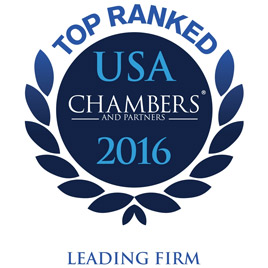 Top Ranked Chambers USA 2016