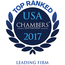 2017 Chambers and Partners Top Ranked Firm